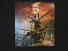 Resident Evil 5 calendar 2009 12 month Piggyback USED EXCELLENT condition