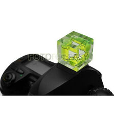 Hot Shoe Triple 3 Axis Bubble Spirit Level Gradienter for Canon Olympus Nikon