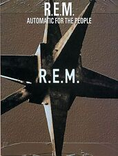 REM Automatic For The People Music Book Guitar TAB NEW