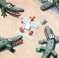 Michael Bedard GETTING AWAY FROM IT ALL  1987 mini art print Sitting Ducks