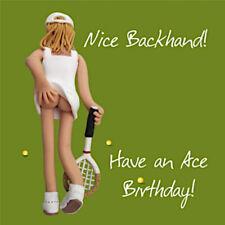Ladies Tennis Blank Funny Mum Daughter Sister Aunt Friend Birthday Card
