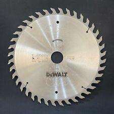 Dewalt DT1033 Series 40 240mm x 30mm 40T TCT Circular Saw Blade for Wood