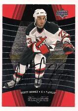 1999/2000 Black Diamond Rookie Auto Scott Gomez New Jersey Devils