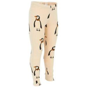 nwt Mini Rodini Size 116-122 Girls Penguin Legging