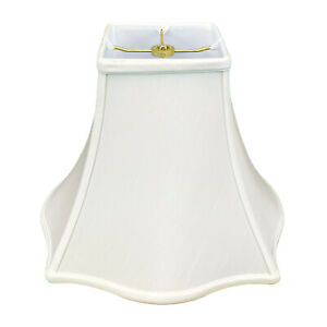 Royal Designs Flare Bottom Outside Square Bell Lamp Shade