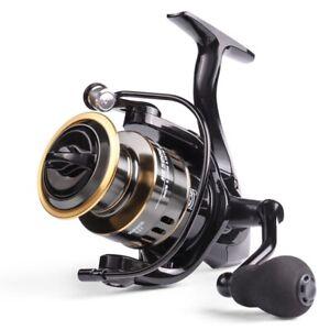 Fishing Reel HE1000-7000 Max Drag 10kg Reel Fishing 5.2:1 High Speed Metal Spool