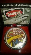 deadly series sea snake 1oz silver proof coin