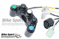 Yamaha R1 2015 - 5 way race bike handlebar switch for Kit ECU and Wiring only