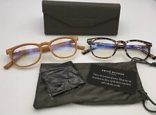 Prive Revaux The Show Off 2 Blue Light Readers Toffee And Multi Tort +0