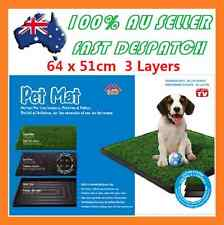 Indoor Dog Pet Potty Zoom Park Training Portable Mat Toilet Large Loo Pad Tray7