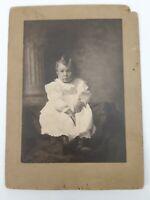Antique Bairstow - Warren PA Pennsylvania - Cabinet Card Photograph - Child
