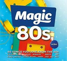 Magic 80s NEW 4CD Eighties Hits By Queen,ABBA,Bon Jovi,Madness,UB40,Level 42 ETC