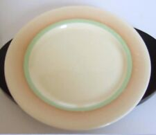 VINTAGE WEDGEWOOD SUPPER PLATE - ORANGE/GREEN BAND    *