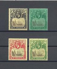 ST HELENA 1922-37 SG 42/5 MINT Cat £115