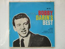 BOBBY DARIN - SOMEBODY TO LOVE+3 EP 7/45 SOUTH AFRICA ROCK 'N ROLL SOUL JAZZ MOD