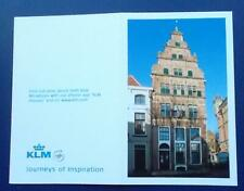 Picture / Information CARD re KLM 92 Delft House. (NB: No KLM house is included)