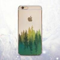 Forest Natural Design Silicone iPhone 11 XS SE Case Cover iPhone 12 6s 7 8 X XR