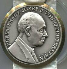 1976 Liechtenstein Volksmarsch Vaduz Medal & Ribbon - Lot EC # 5009