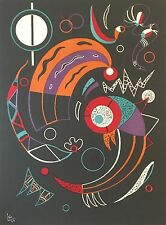 """Wassily Kandinsky Lithograph, """"Comets"""""""