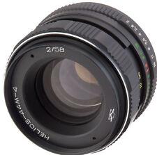 Helios-44M-4 58mm 50mm f/2 objektive lens M42 biotar Canon 6D 70D 7D 5D 60D 1D