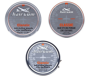 Hairgum Classic Normal Hold, High Shine Hair Styling Pomade for Men