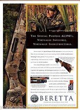 1998 BERETTA Special Purpose AL390 Shotgun AD Collectible Print Advertising