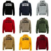 Adult Men's Unisex Hoodie Hooded Jumper Pullover Women's Sweater - BROOKLYN
