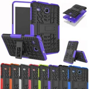 Rugged Stand Shockproof Case Cover For Samsung Galaxy Tab E 8.0 SM-T377 T378V