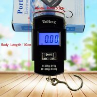 10g/40Kg 10g/50Kg Pocket Digital Scale Hanging Luggage Fishing Weight