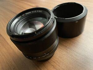 Fuji Fujifilm FUJINON XF 56mmF 1.2 R Lens - Black