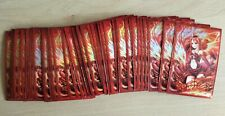 More details for qty 50 fire angel -2 card /deck sleeves opened pack for yu-gi-oh!