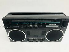 Vintage Toshiba Rt-6016 Boombox Rare Collectible Ghetto Blaster - Cassette Issue