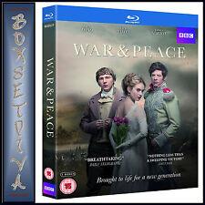 WAR & PEACE - BBC -   Paul Dano & James Norton *BRAND NEW BLURAY **