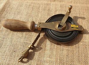 Vintage Rabone Hand Held Steel Tape Measure