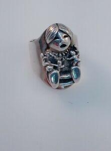 """Vintage Sterling Silver Storyteller Ring Size 6 Signed """"FV"""" Navajo"""