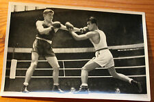 OLYMPIA 1936 Boxing welterweight fight Fritz(France) WS Castro(Phillipine)131/60