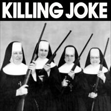Vinyl Sticker killing joke new wave punk industrial laptop 12x12cm war dance