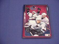 2001-02 Vancouver Canucks NHL Hockey Media Guide