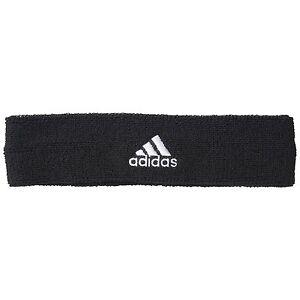 adidas- Schtirnband schwarz. Jogging. Fußball. Fahrrad. Fitness. Schweißband.