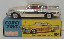 Vintage Corgi 211S - Studebaker Golden Hawk - Gold 2nd Listing