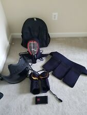 Slightly Used E-mudo Kendogu, Complete Kendo Sparring Gear Set