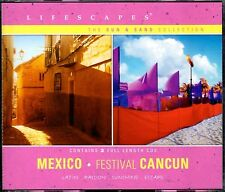 Lifescapes SUN & SAND COLLECTION: MEXICO + FESTIVAL CANCUN INSTRUMENTAL 2-CD SET