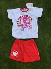 LAZY TOWN STEPHANIE FOOTBALL KIT 2-3 YEARS NEW