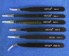 Anti-static Tweezer Maintenance Tool Esd 10 11 12 13 14 15 6Pcs