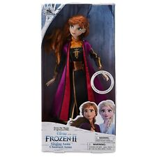 Disney Frozen 2 Singing Anna Classic Doll 30cm Action Figure Boxed