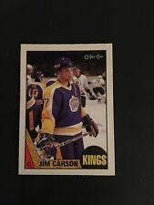 1987-88   OPC  HOCKEY  #92   JIM  CARSON   (R)    NM-MT
