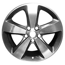 09137 OEM Refinished Alloy Rim 20x8 2014-2016 Grand Cherokee Machined w/Charcoal