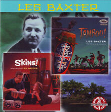 LES BAXTER Tamboo! / Skins!  New Sealed CD Collectables 2782 Exotica Jazz Space
