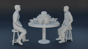 Lost In Space DEADLY GAMES of GAMMA 6 3D Printed 3 Piece Set John Robinson Myko
