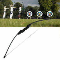 """30/40LBS Traditional Archery Hunting 54"""" Straight Bow Longbow Takedown Shooting"""